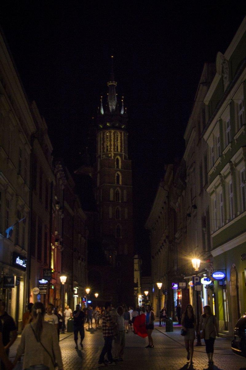 Улица к главной площади.