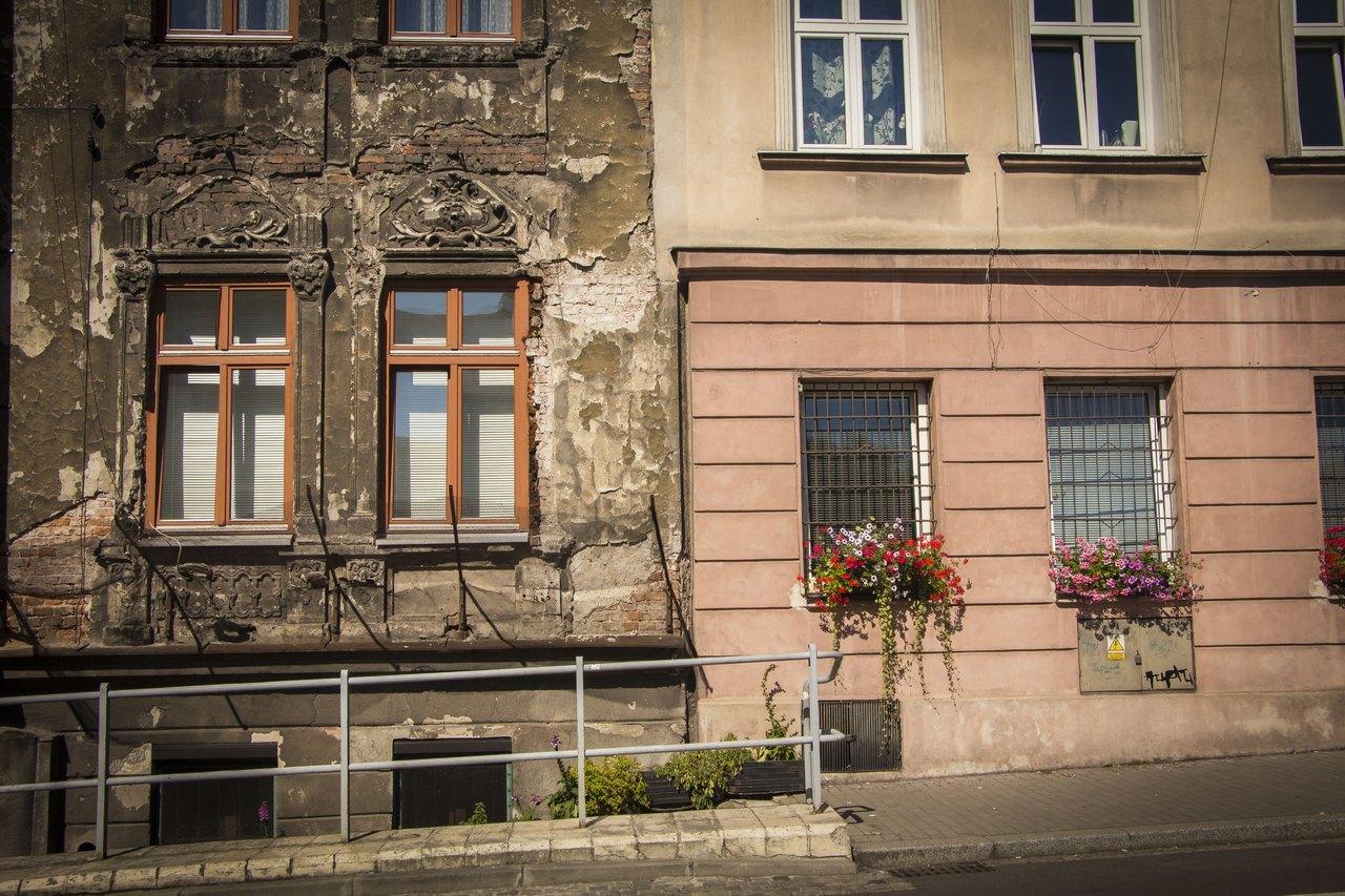 Район Подгуже в Кракове.