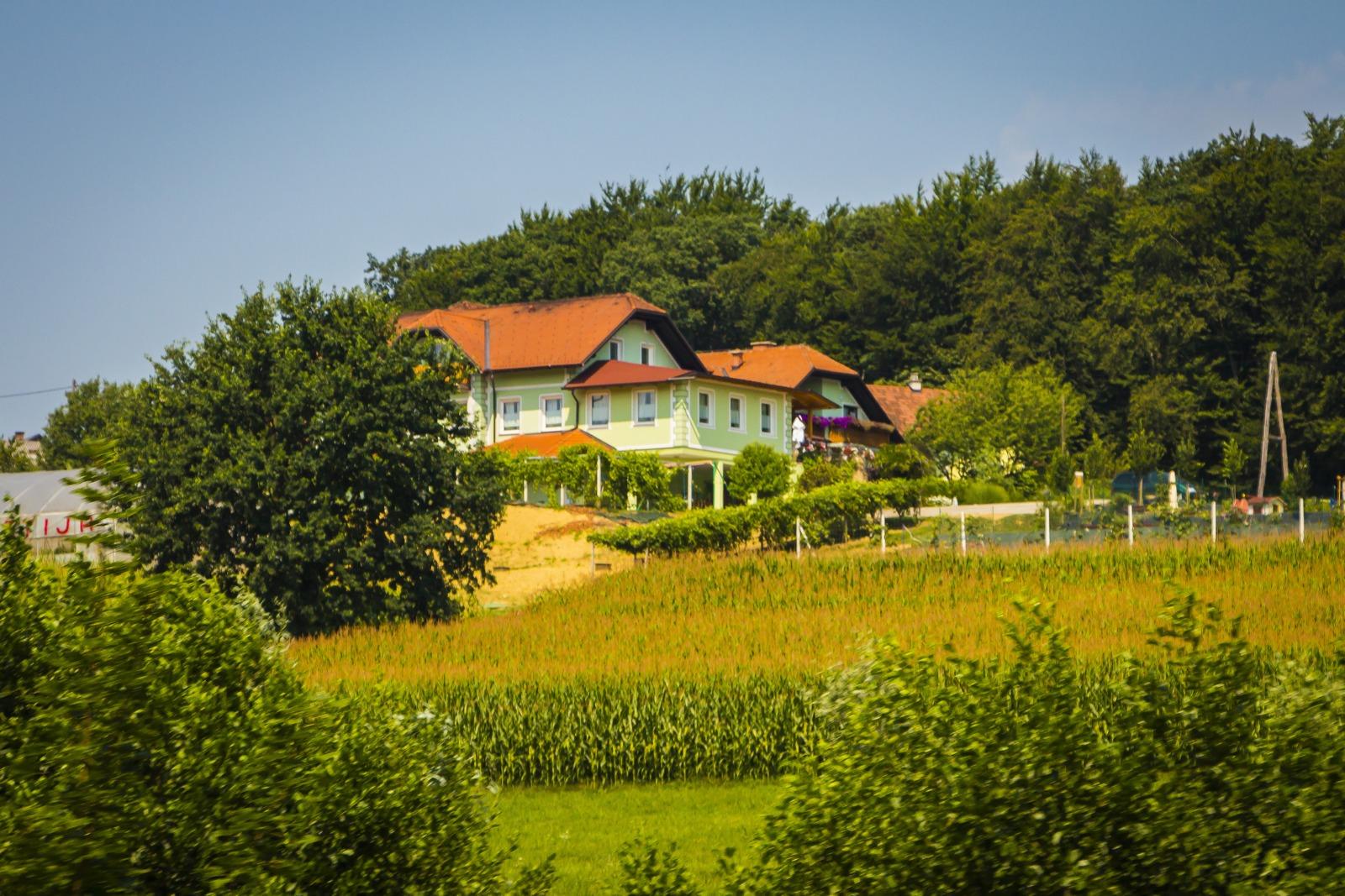 Словения. Чудесные домики.