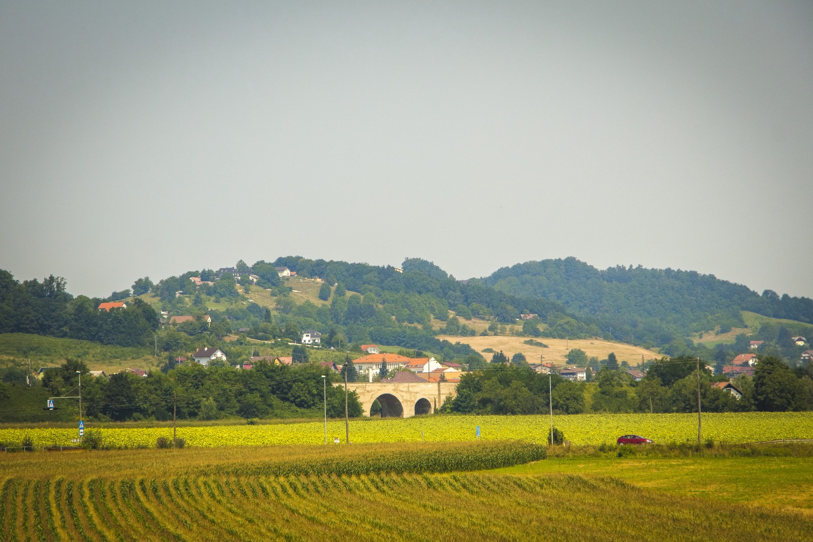 Словения. Картинки за окном.