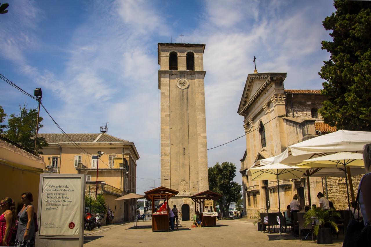 Площадь у Кафедрального собора.