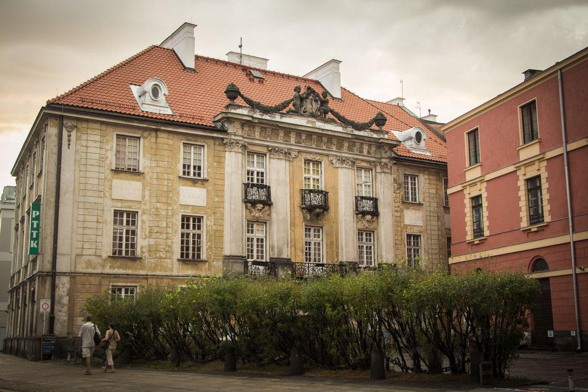 В центре Варшавы