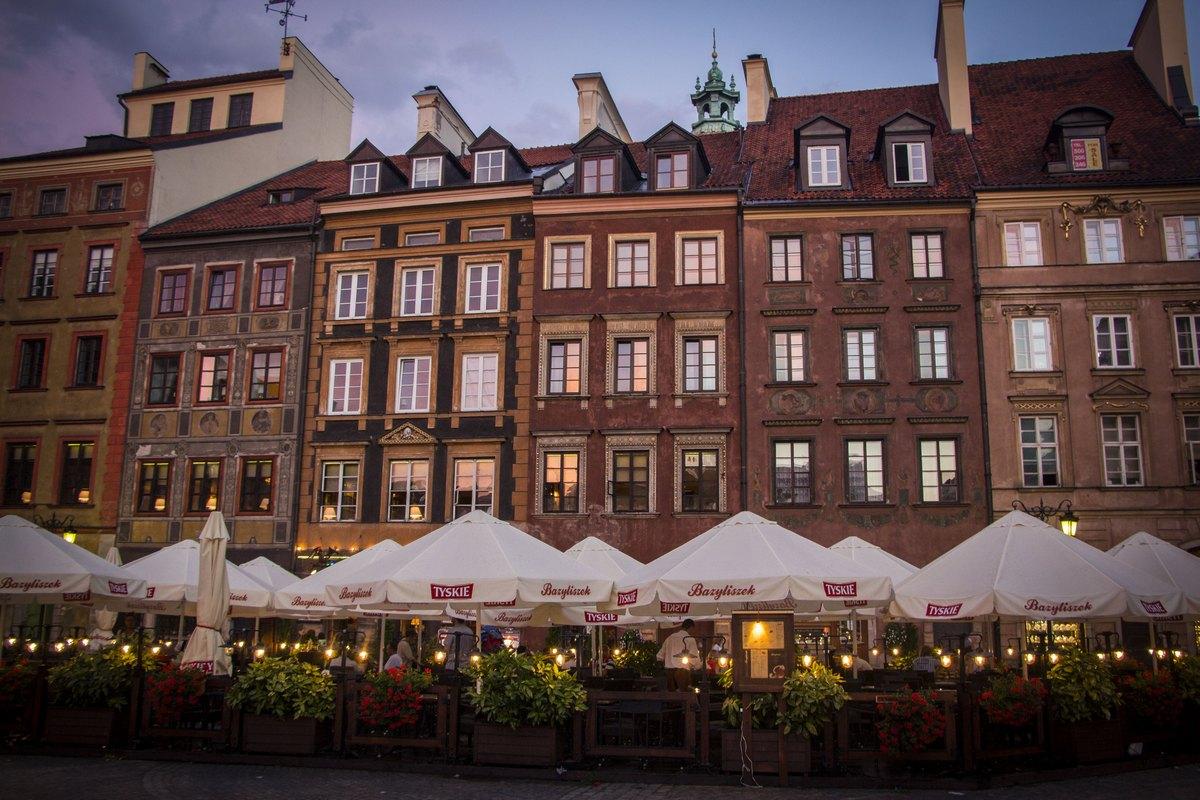 Старе Място - старый центр Варшавы