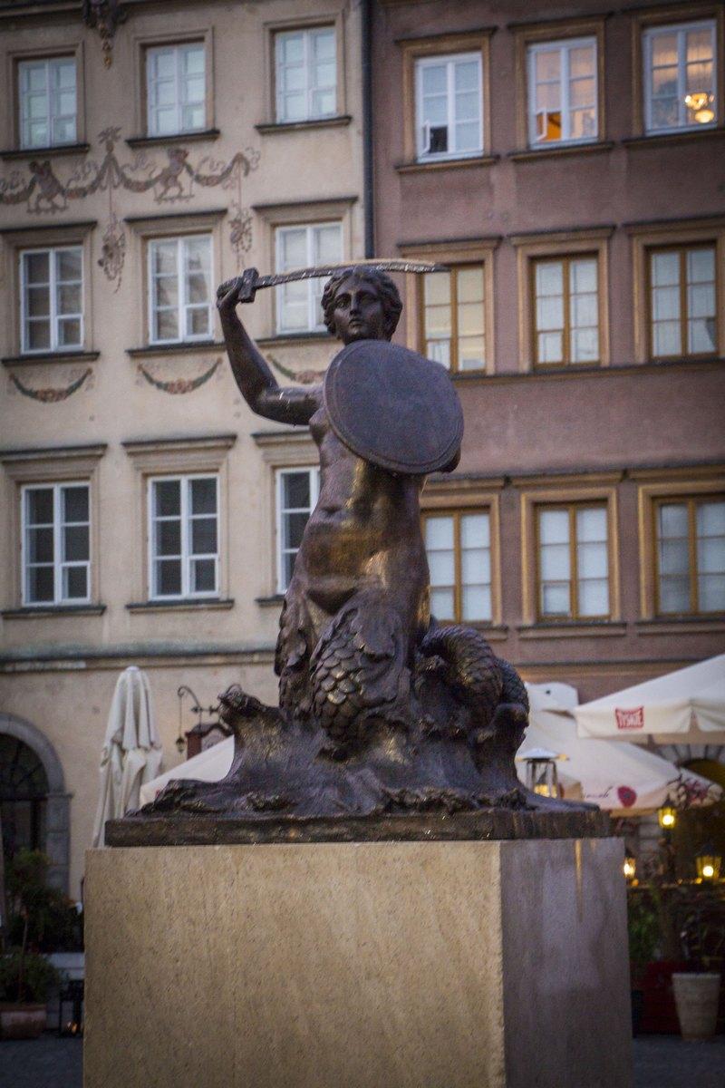 Сирена - символ Варшавы