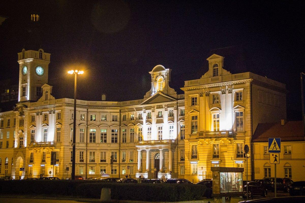 Ночная Варшава (последний)