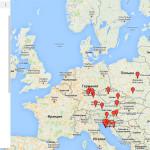 маршрут по Европе на машине