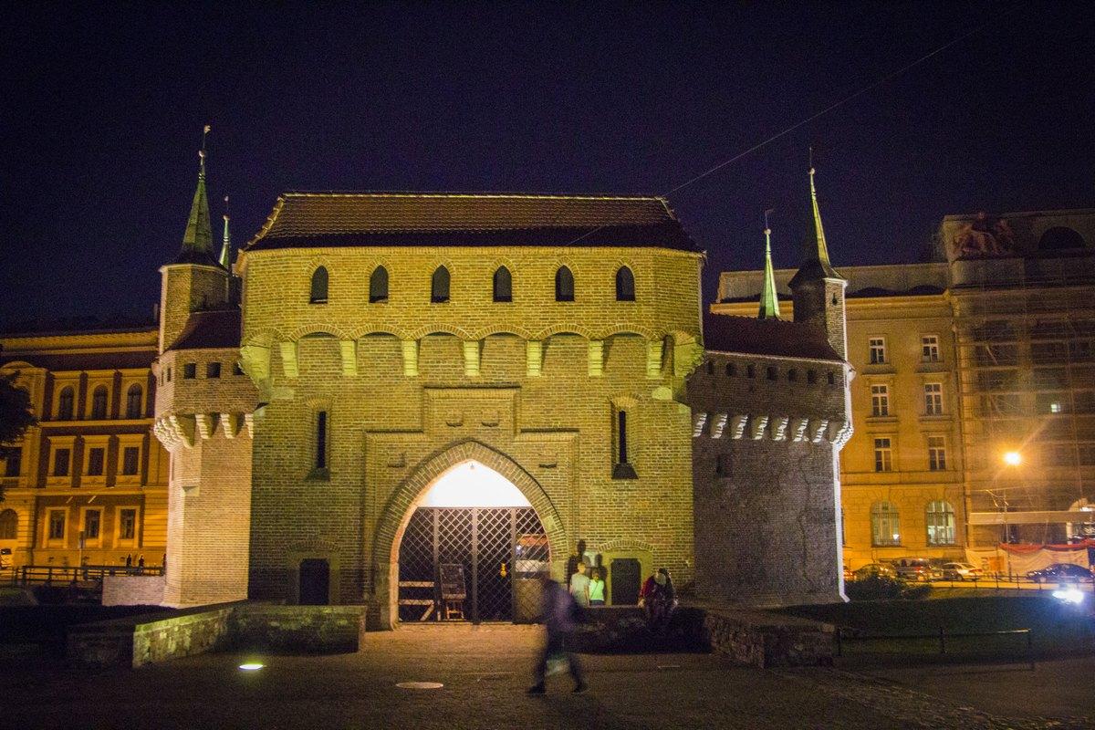 Флорианские ворота.