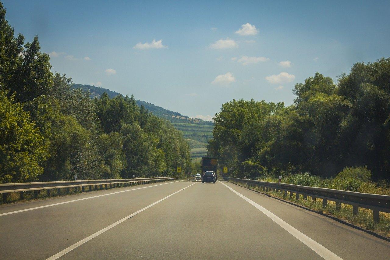 Дорога от Брно до Вены