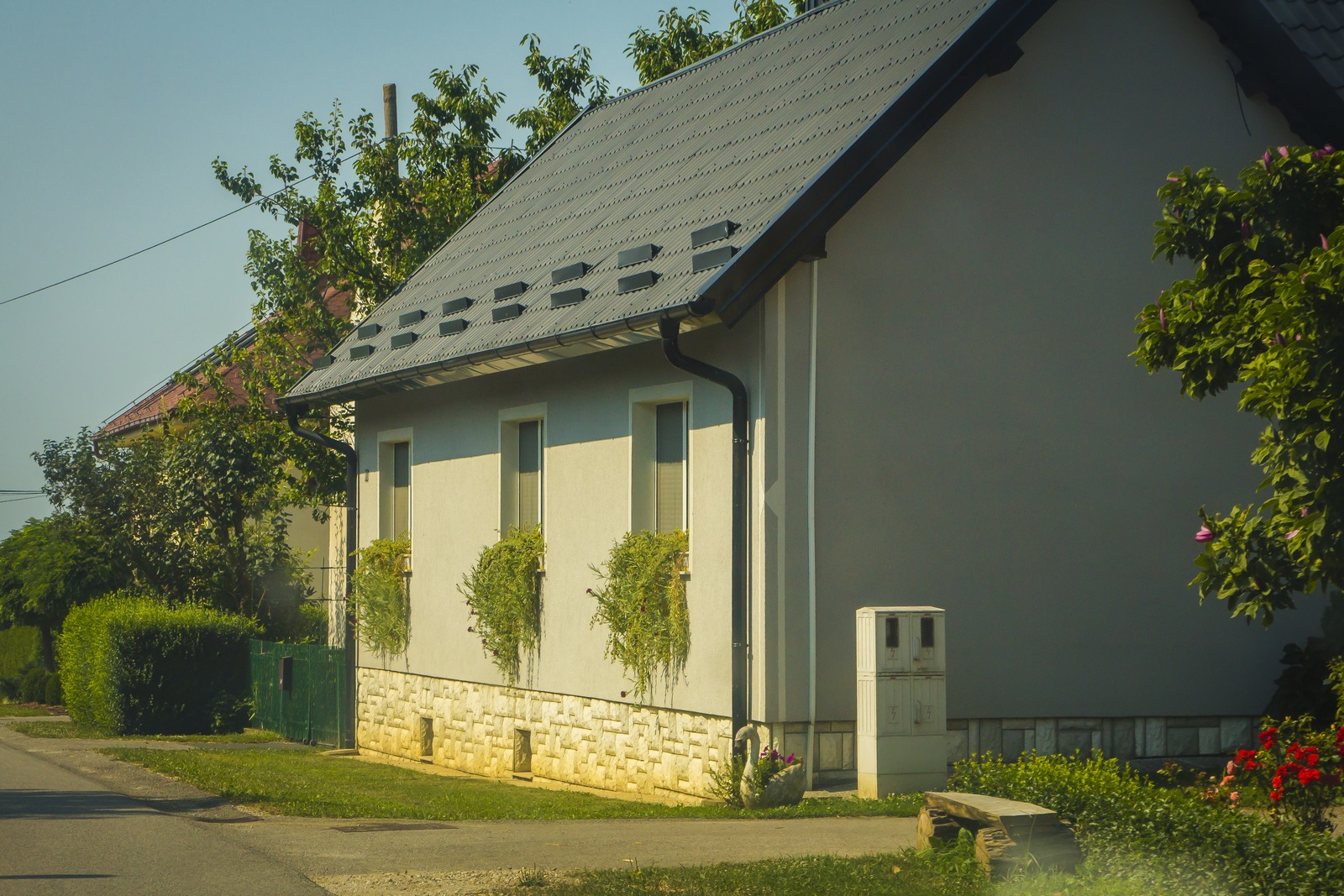 Деревня Моравске Топлице.