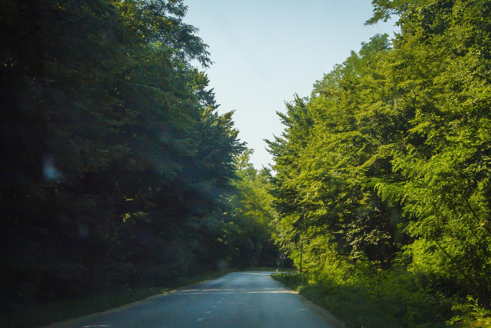 Словения. Проселочные дороги.