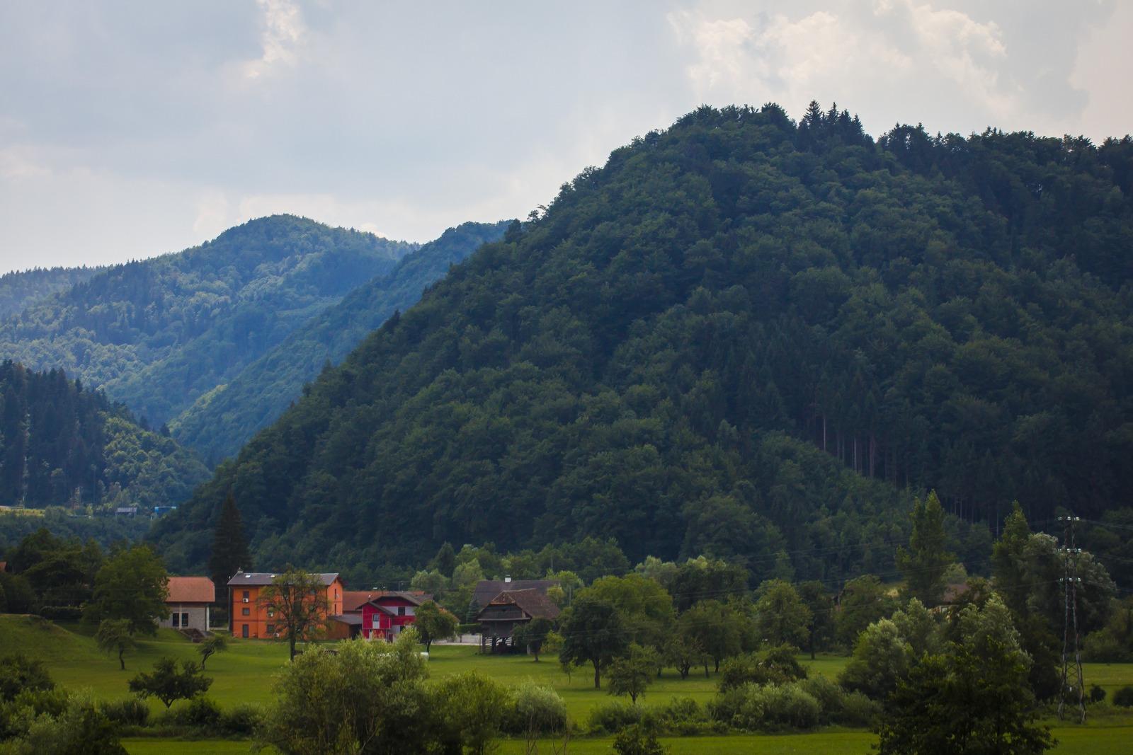 Словения. Горы все выше