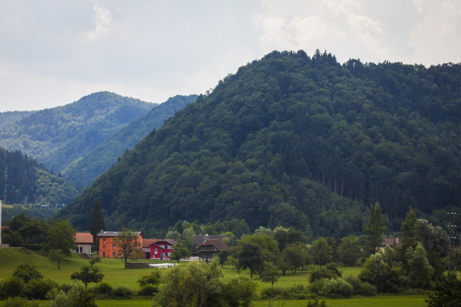 Словения. Горы. Альпы, ага.