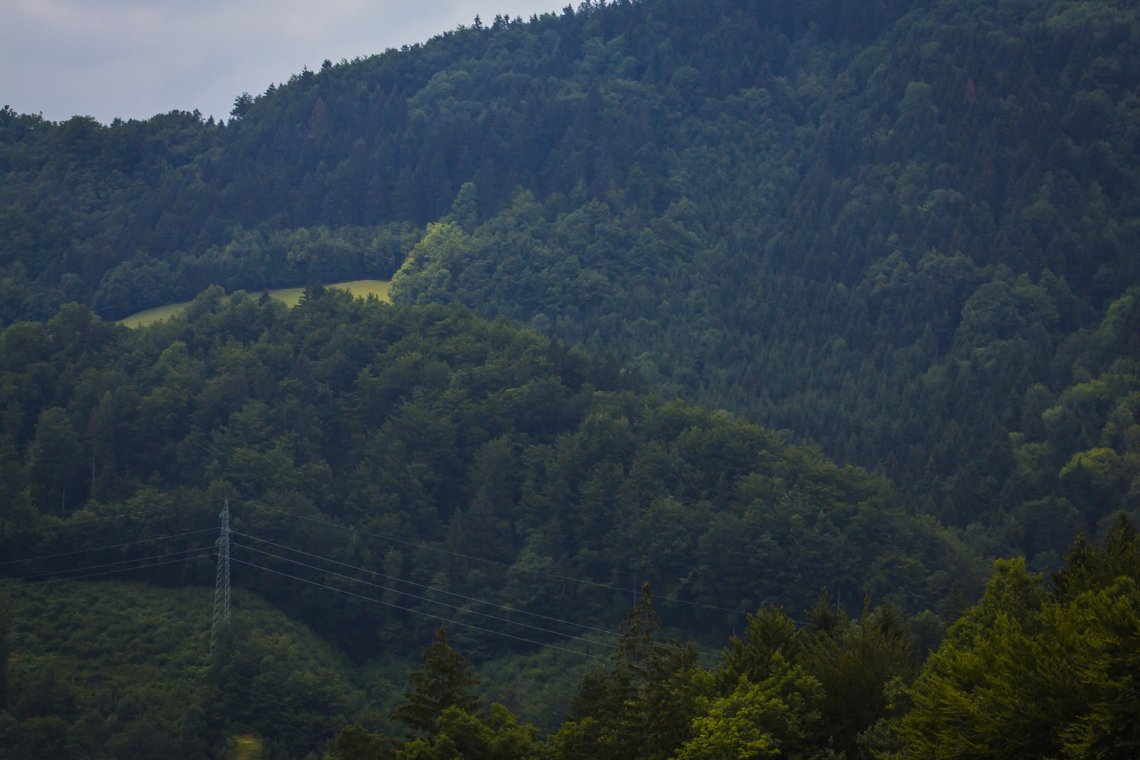 Словения.  Горы.