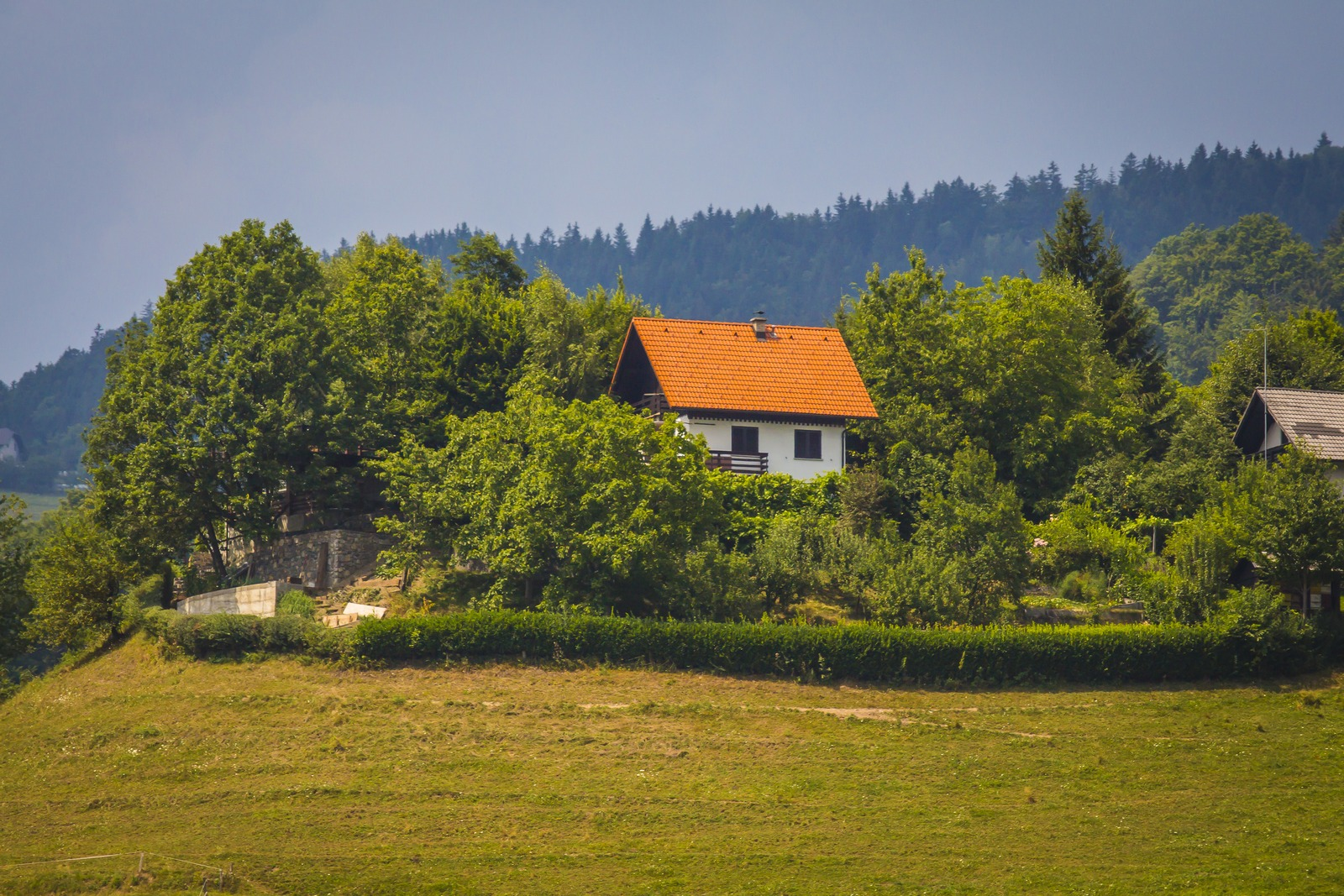 Словения. Домики Европы прекрасны.