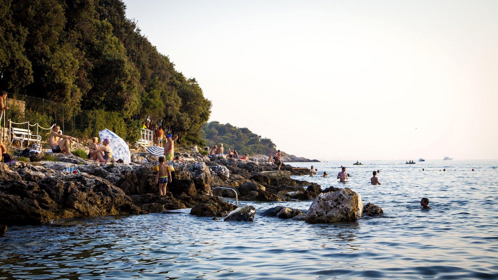 Хорватия. Дикие пляжи.