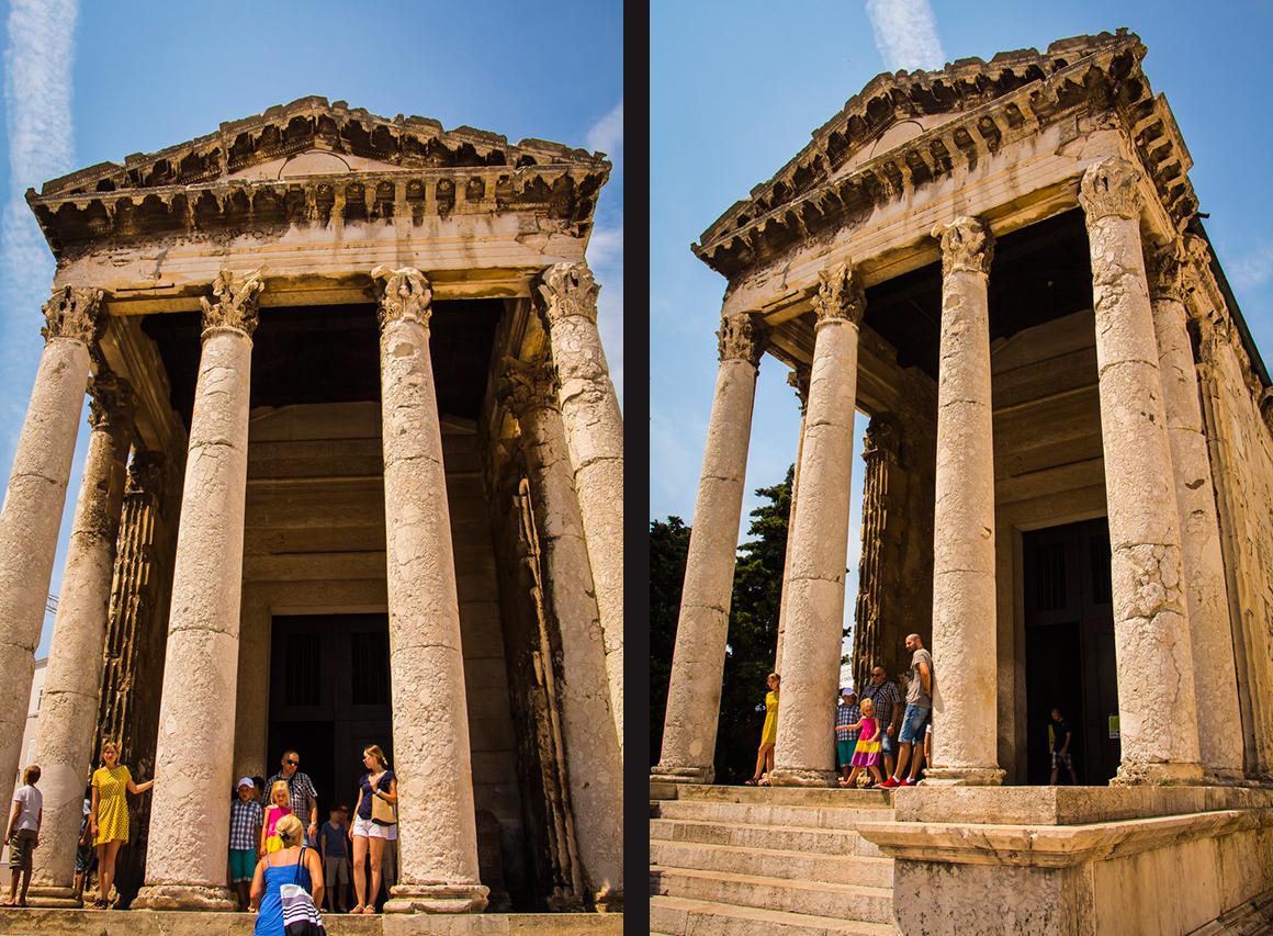 Храм Августа в Пуле