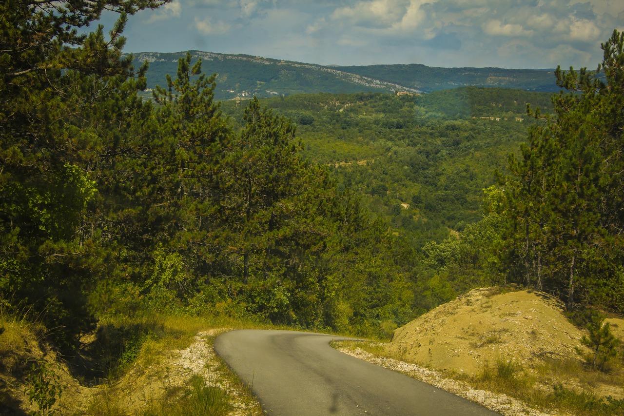 Дороги Хорватии. Истрия