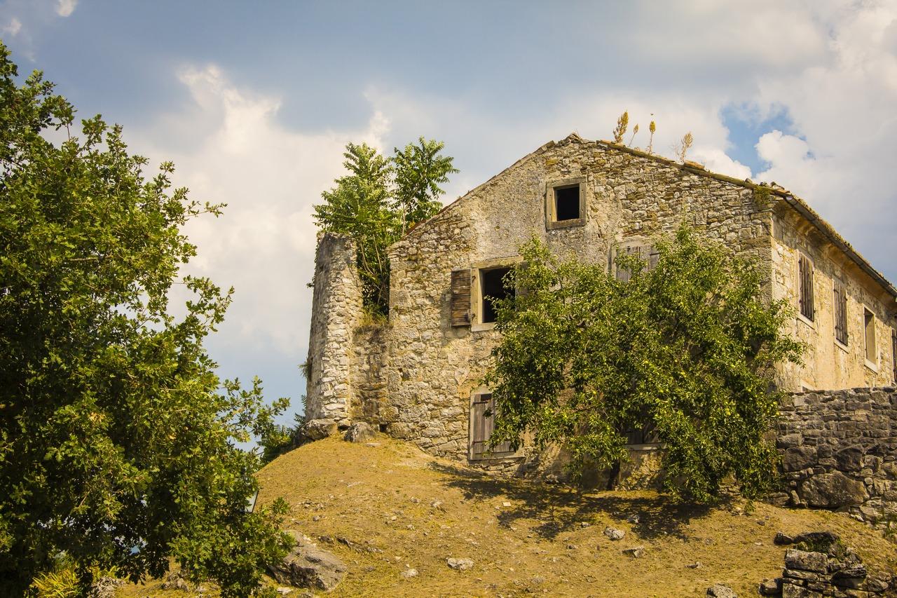 Хум. Истрия, Хорватия