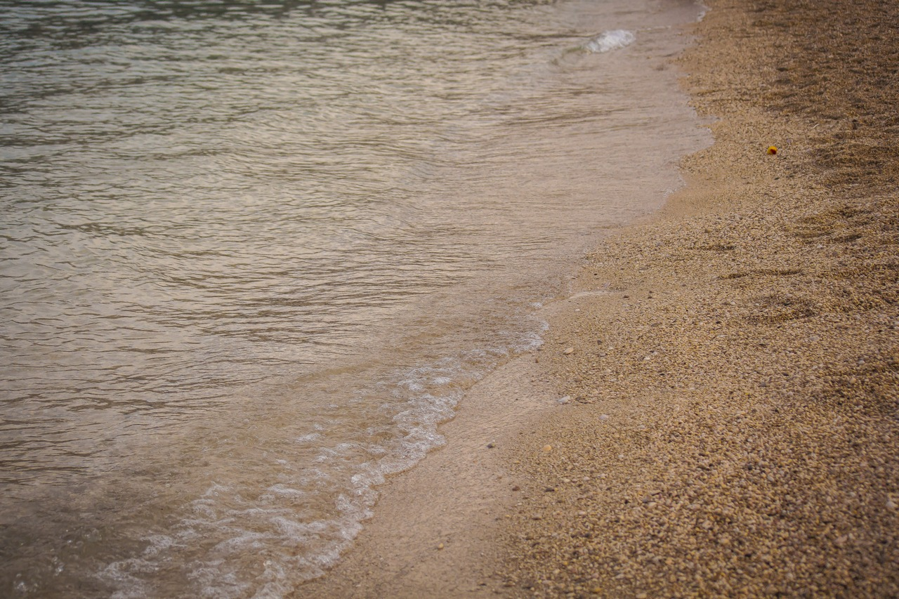 Пляж в Башке, Крк
