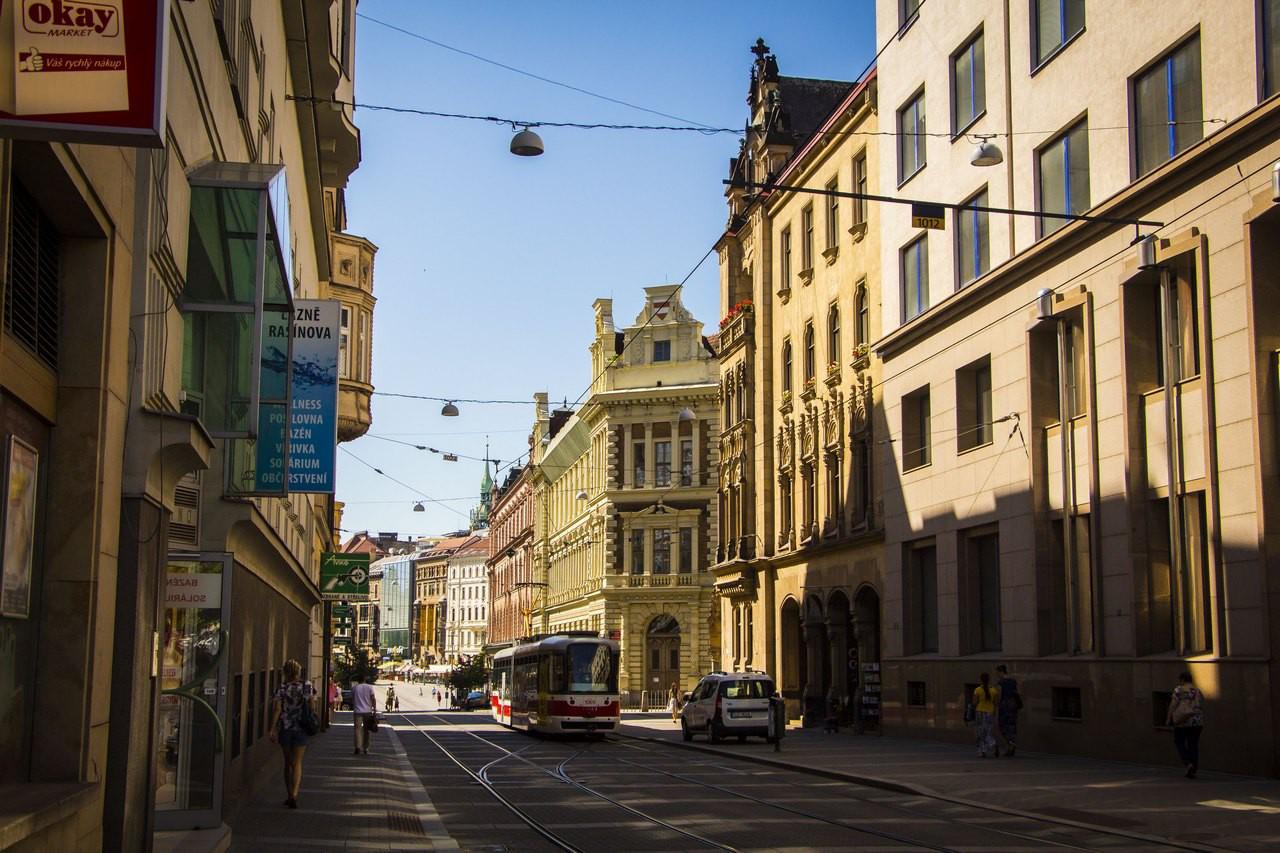 Улицы Брно