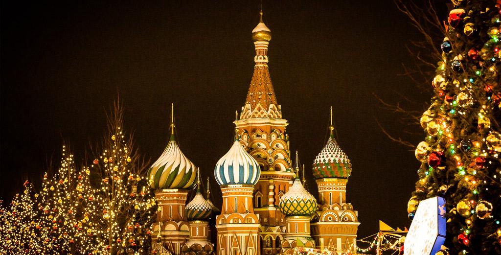За новогодним настроением в Москву