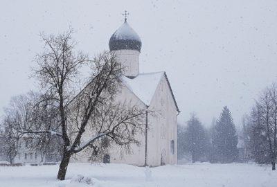 Спасо-Преображенский Собор на Ильине, Новгород