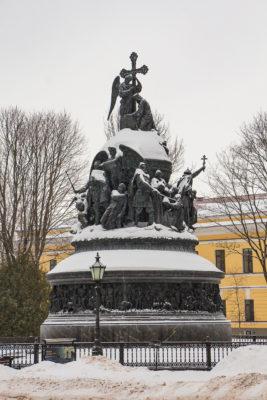 Кремль Детинец в Новгороде