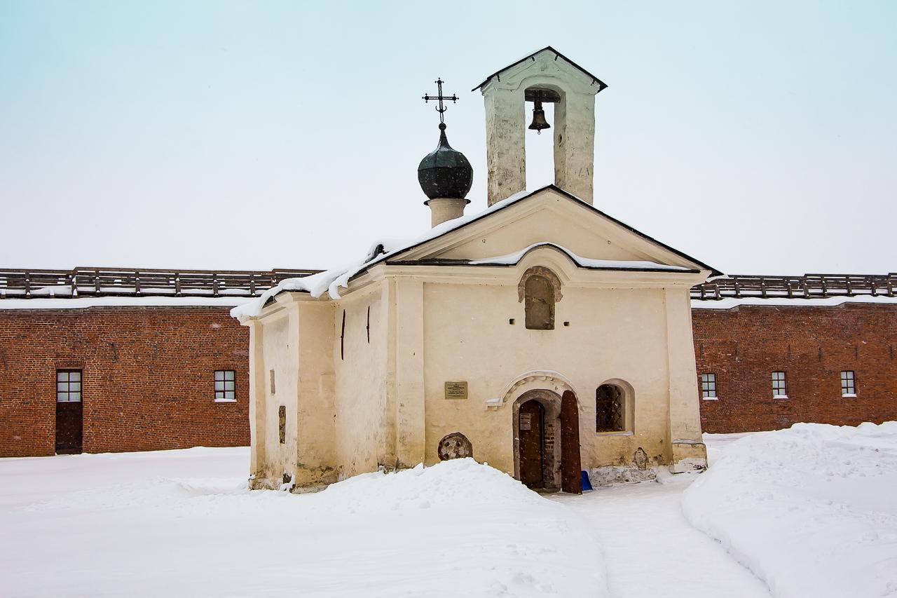 Церковь Андрея Стратилата в Новгороде