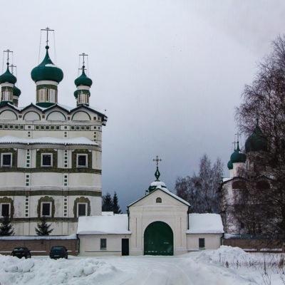Николо-Вяжищский монастырь в Новгороде