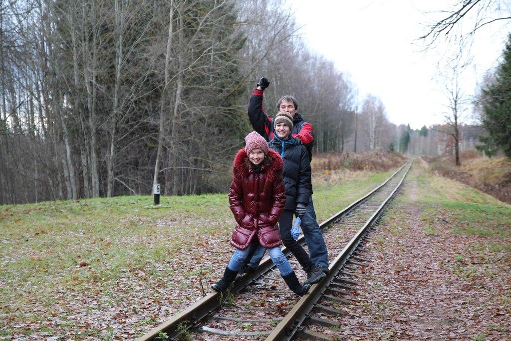 Узкоколейка в Латвии