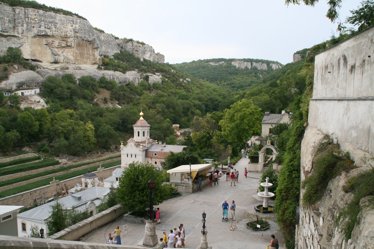 Бахчисарай Успенский монастырь