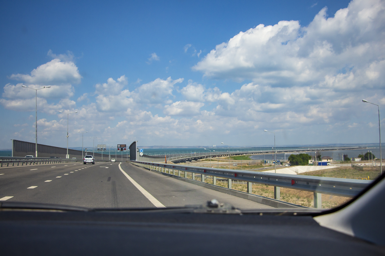 Крымский мост и Таврида