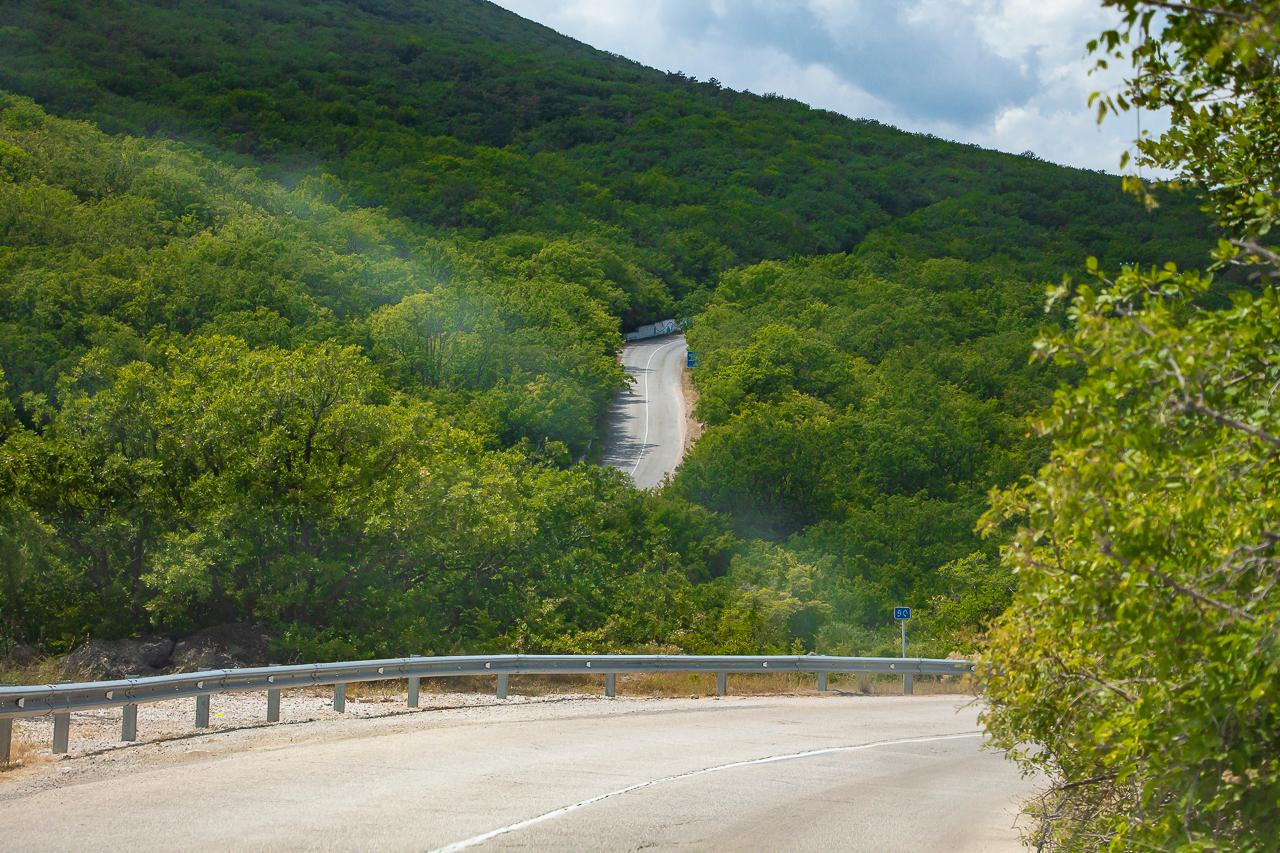 Алуштинская дорога