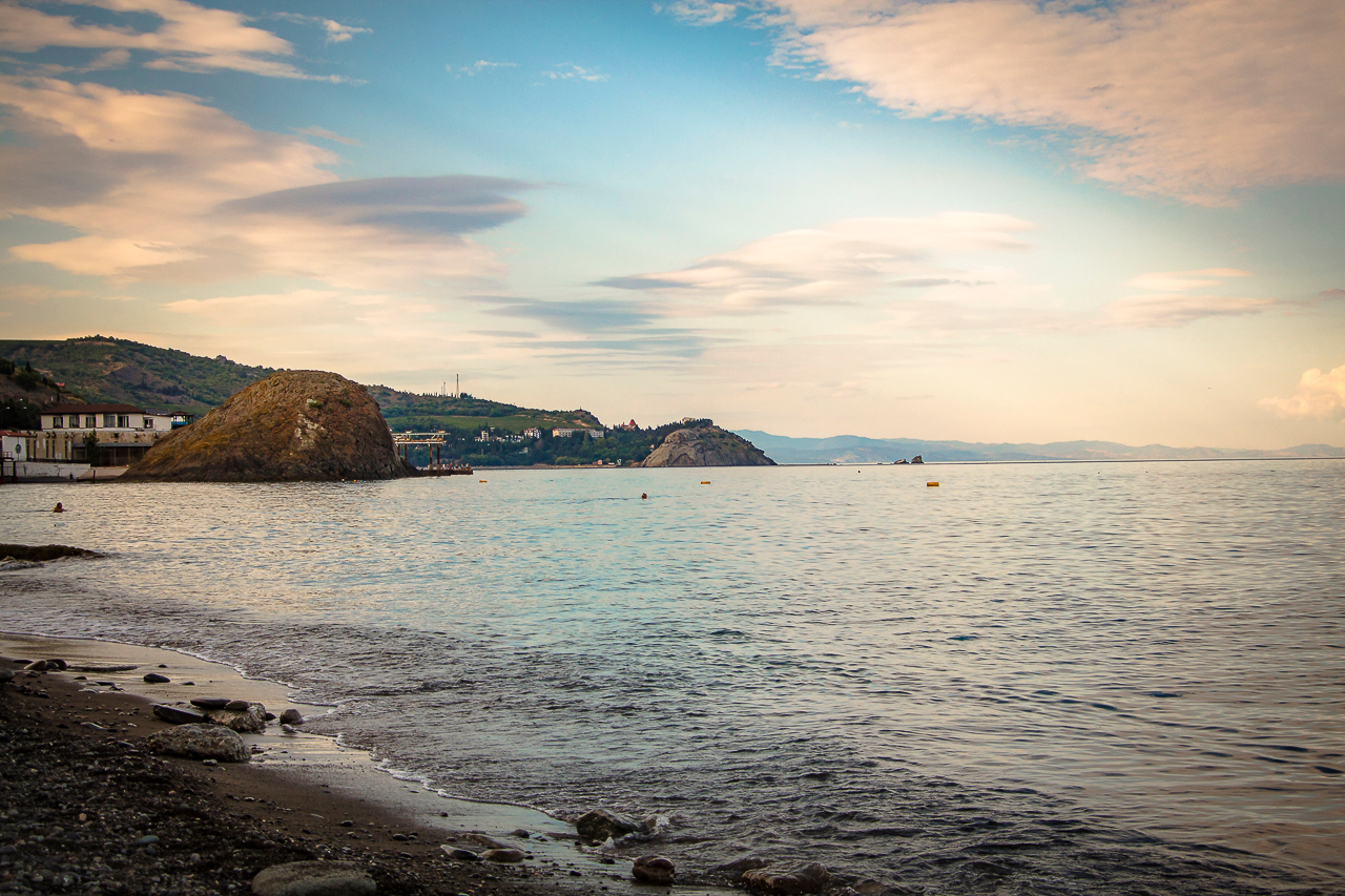 Пляжи Крыма, Партенит